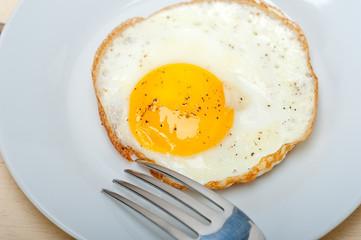 egg sunny side up