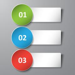 3d banner text box