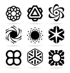 Collection of abstract symbols (19)