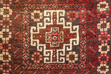 antike, handgewebte, orientalische Satteltasche