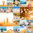 canvas print picture - summer theme