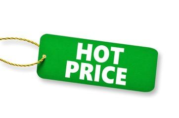 HOT PRICE - Label