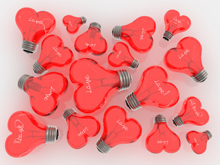Love red lamps