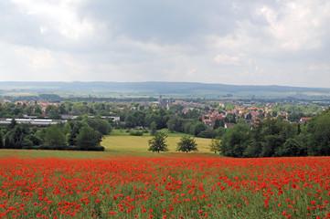 Panoramablick über Einbeck