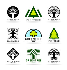 Set of trees (8)
