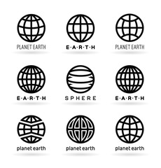 Set of Earth Icons (6)