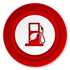 biofuel icon, bio fuel sign
