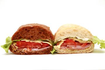 бутерброт с ветчиной