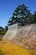 Nagoya castle. Filtered color tone.