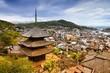 Onomichi, Japan. Filtered color tone.