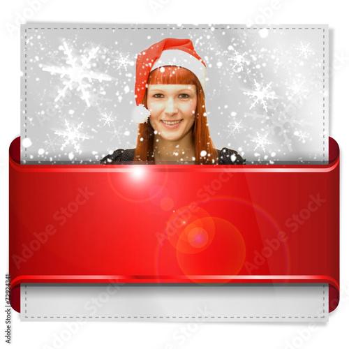 canvas print picture Button, Icon, Weihnachten