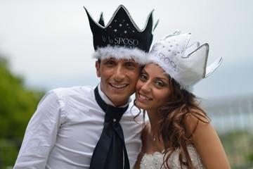 sposi con la corona