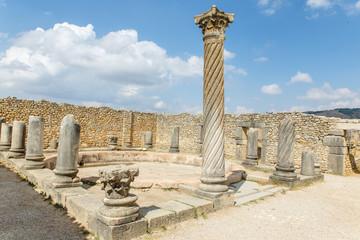 Volubillis opgraving in Marokko