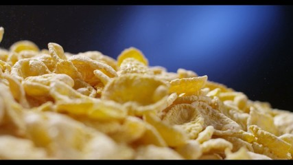 corn flakes falling