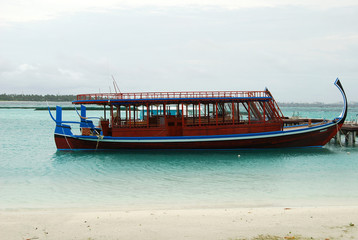 Maldivian boat