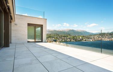 Beautiful terrace, outdoors