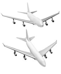 Zwei Spielflugzeug