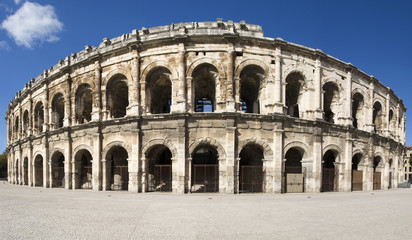 Exterior of the Arena of Nîmes