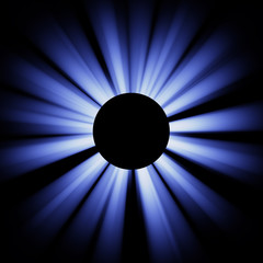Blue eclispe