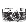 Retro Camera Doodle - 72931926