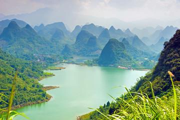 Karstberge in China