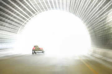 Exiting a road tunnel