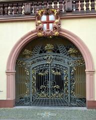 Portal in Freiburg