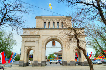 Gate of Tiflis in Stavropol