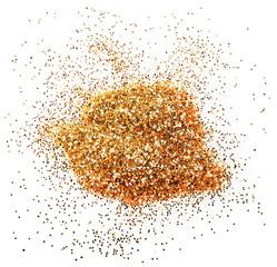 golden glitter sparkle
