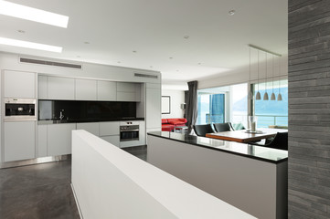 Interior, beautiful modern apartment