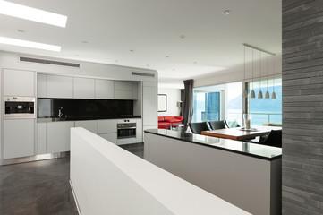Interior, beautiful modern apartment