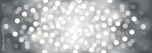 Silver festive lights, vector  background.
