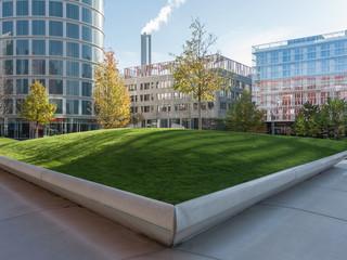 Moderne Architektur der HafenCity Hamburg