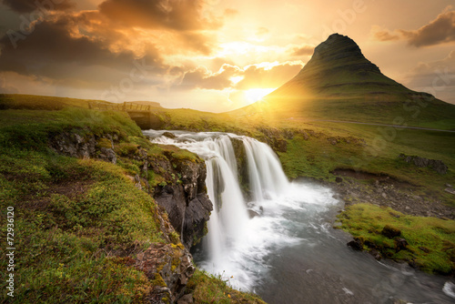 Wall Murals Waterfalls Iceland
