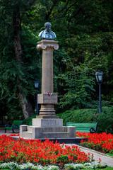 Monument of Alexander Pushkin, Chisinau, Moldova