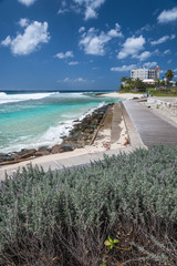 Barbados - Hastings boardwalk