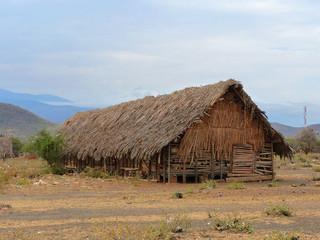 Hütte in Mangola Tansania Afrika