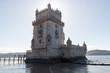 canvas print picture - Turm Torre de Belém in Lissabon