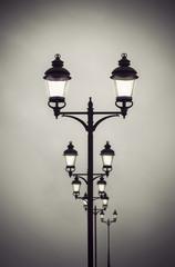 lamp posts vintage style