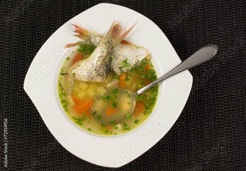 Fototapeta Zupa rybna