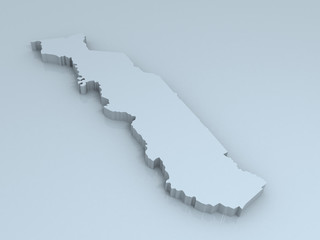 togo 3D map