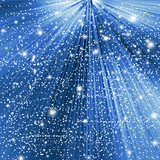 Fototapety Abstract blue winter Christmas background