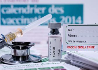 recherche, kit de vaccination ebola