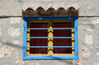 canvas print picture - Fenster in Rovinj, Istrien