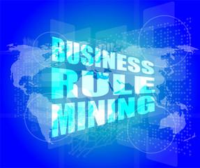 business rule mining interface hi technology