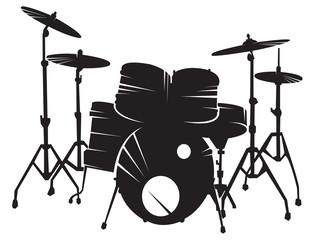 Drum setting