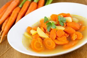 leckere Karottensuppe