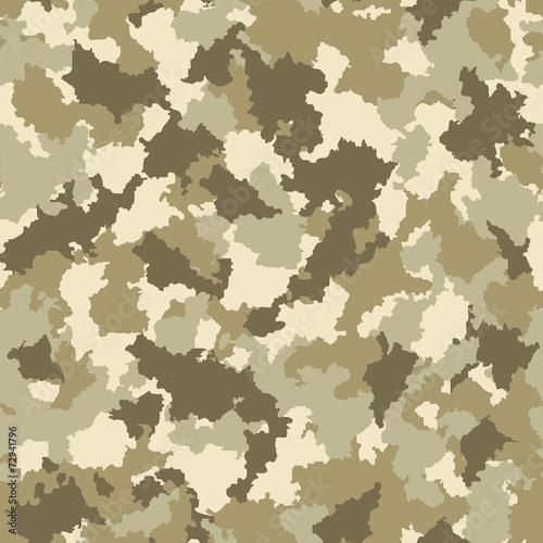 Fotobehang Kunstmatig Seamless camouflage pattern