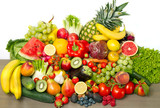 Fototapeta fruit and vegetables