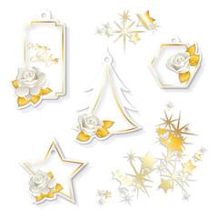 Etichette natalizie